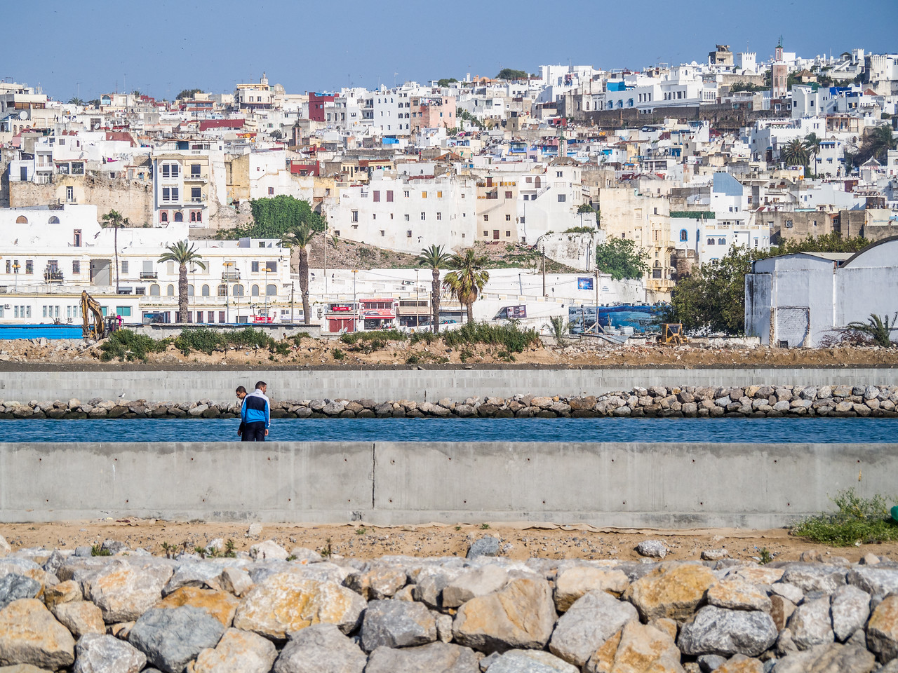 Layers along the Waterfront, Tangiers