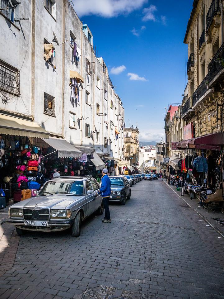 Uptown Street, Tangiers