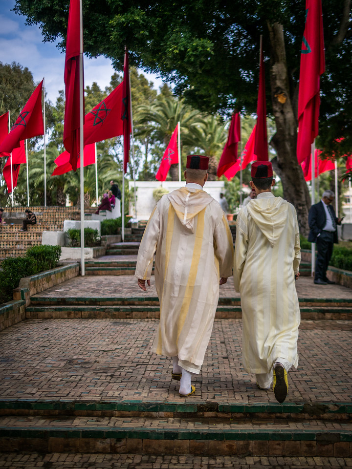 Fez Caps and Robes, Tangiers