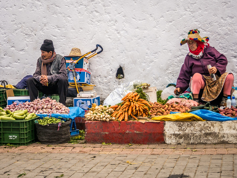 Sellers Along the Wall, Tangiers