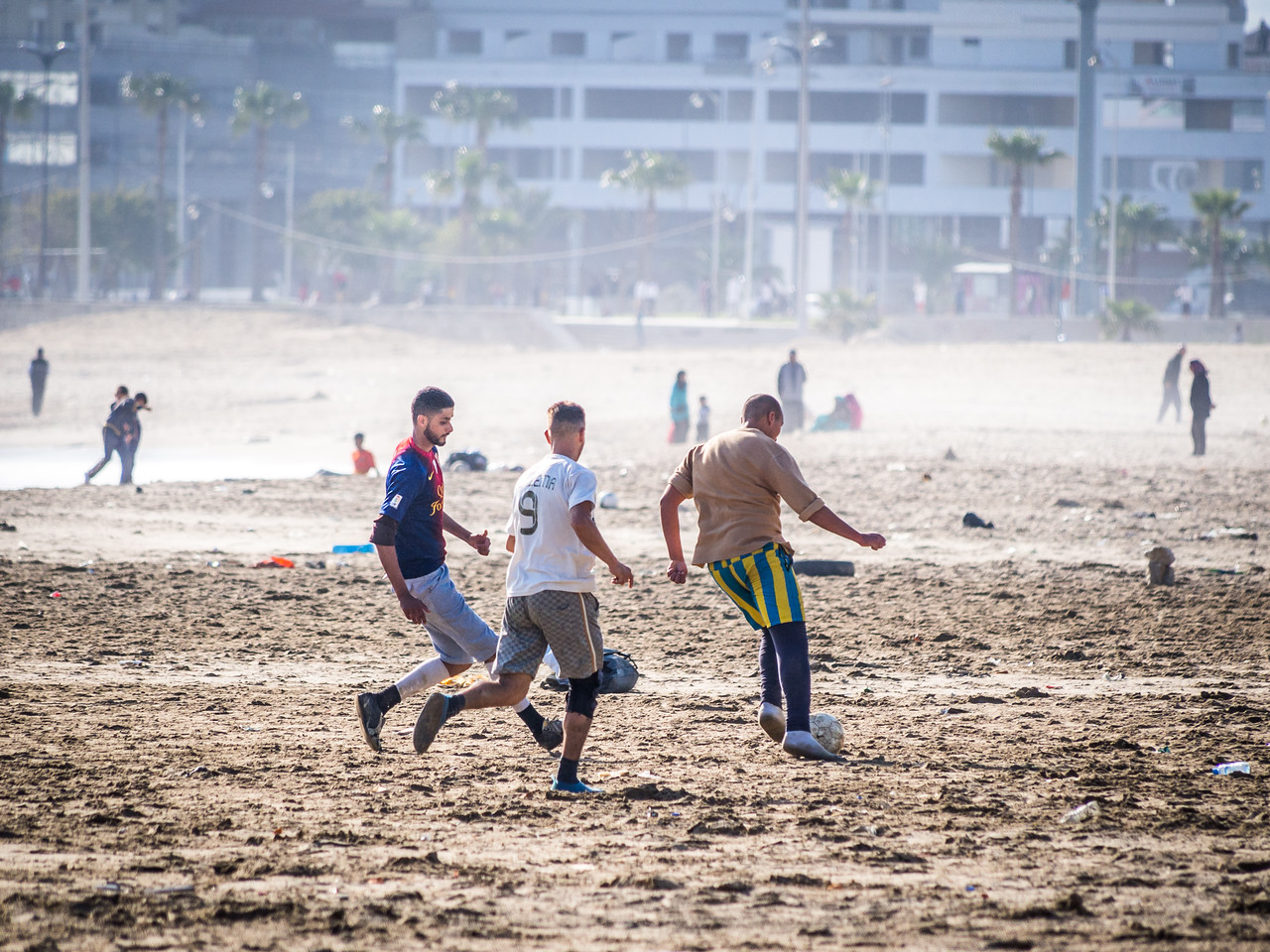 Going for the Goal, Tangiers, Morocco
