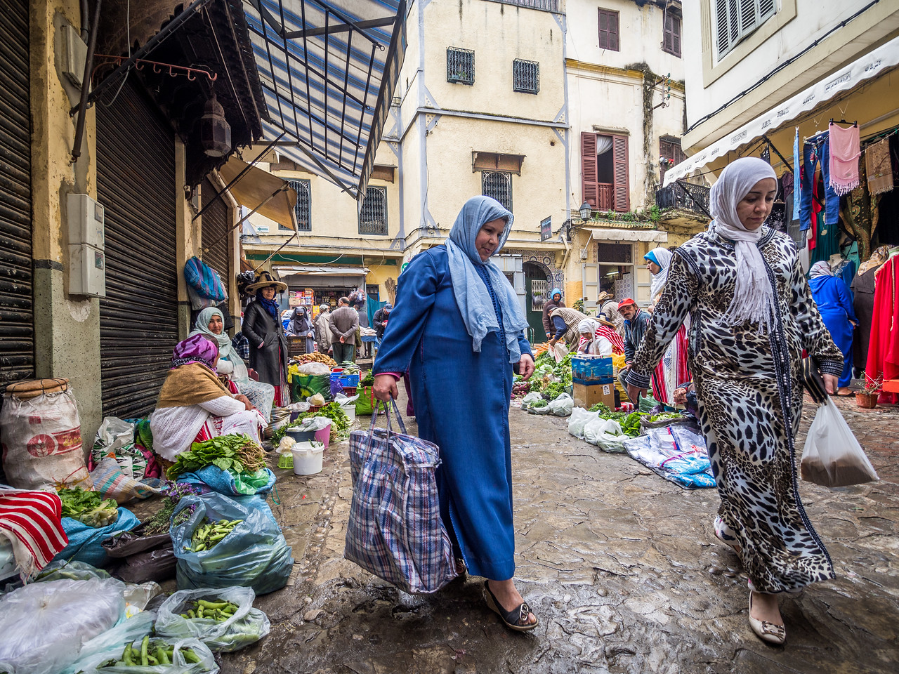 At the Thursday Market, Tangiers