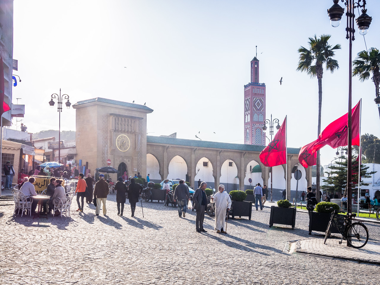 Outside the Mosque, Tangiers