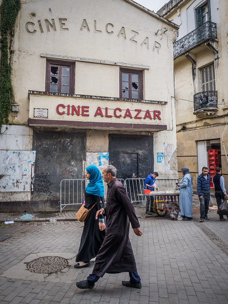 At the Cine Alcazar, Tangiers