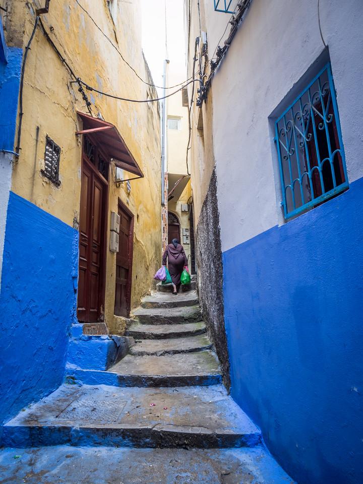 Blue Stairway, Tangiers