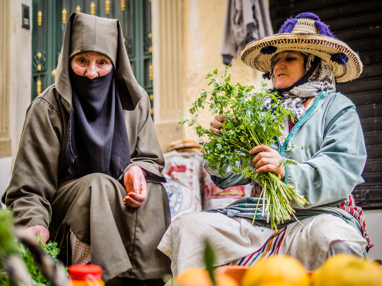 Parsely on the Market, Tangiers, Morocco