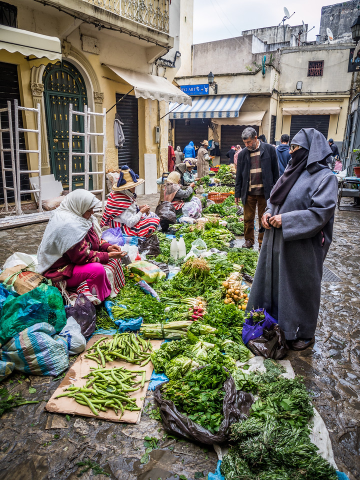 Buying Greens, Tangiers