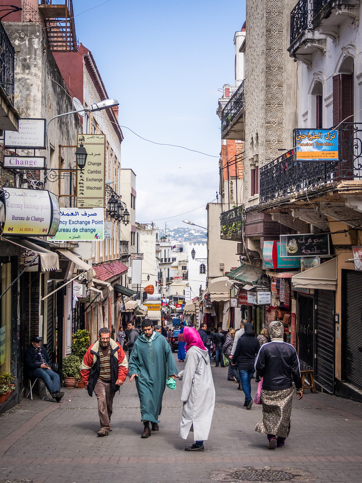 Down Rue Siaghine, Tangiers