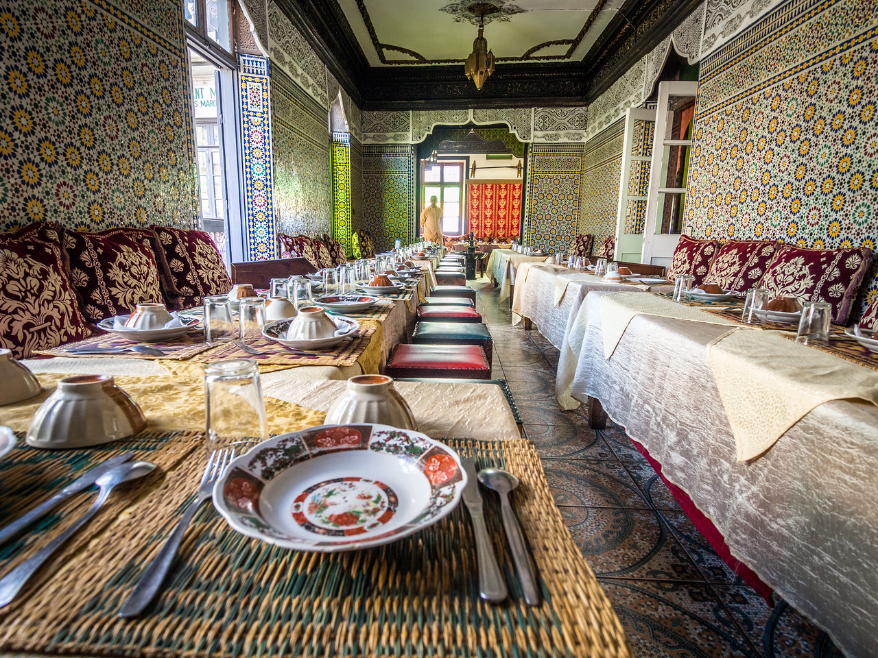 Setting for Dinner, Tangiers, Morocco