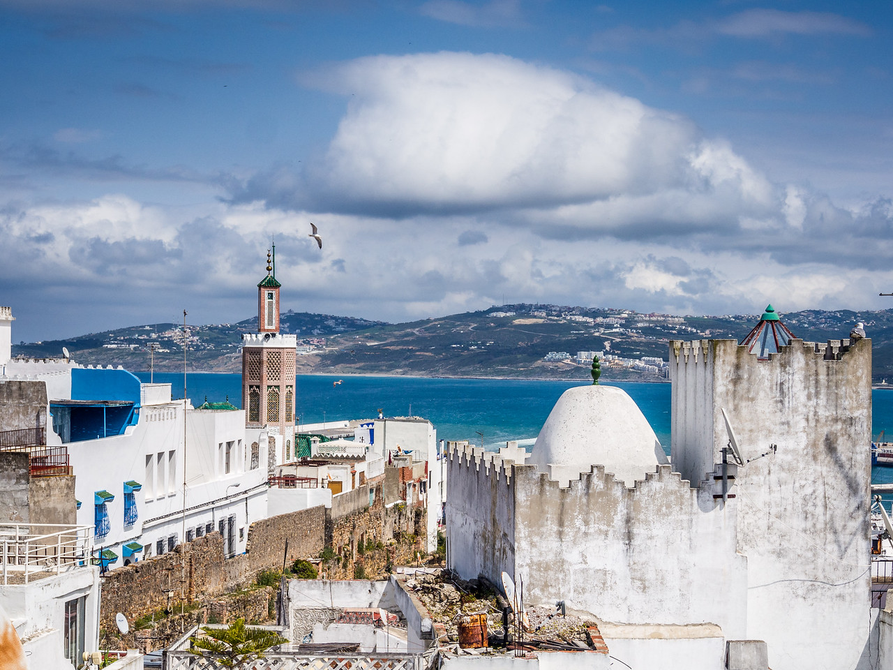 Mosques and the Bay, Tangiers