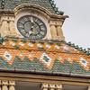 Town Hall Tower Closeup, Târgu Mureș