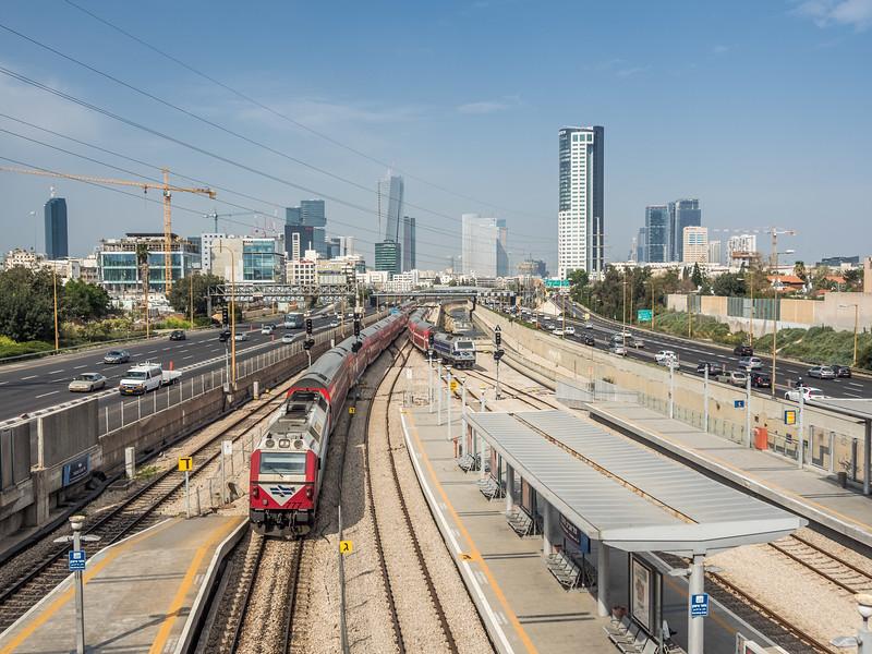 Ha Haganah Station, Tel Aviv, Israel