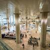 Inside Ben Gurion Airport, Tel Aviv, Israel