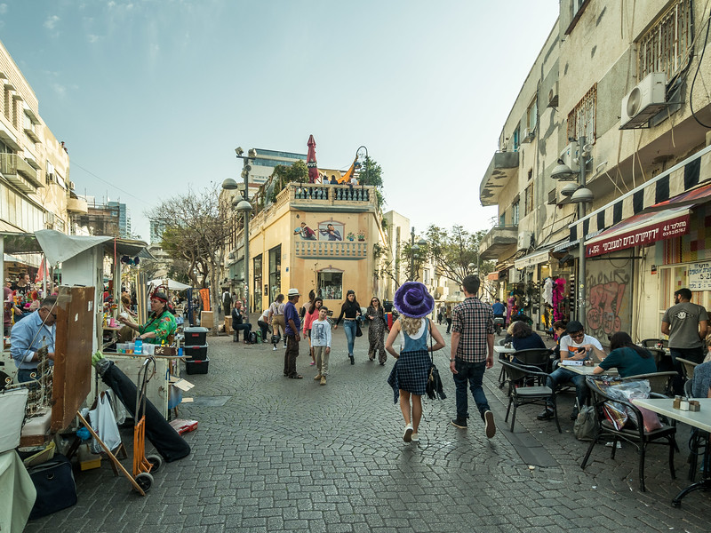 Afternoon on the Street, Tel Aviv, Israel