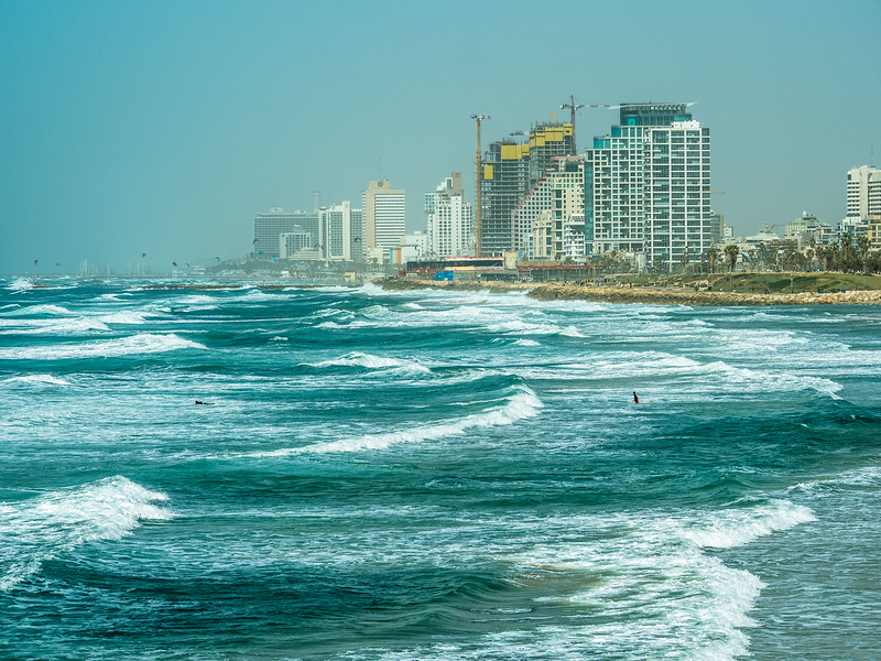 The Windy Shore, Tel Aviv, Israel