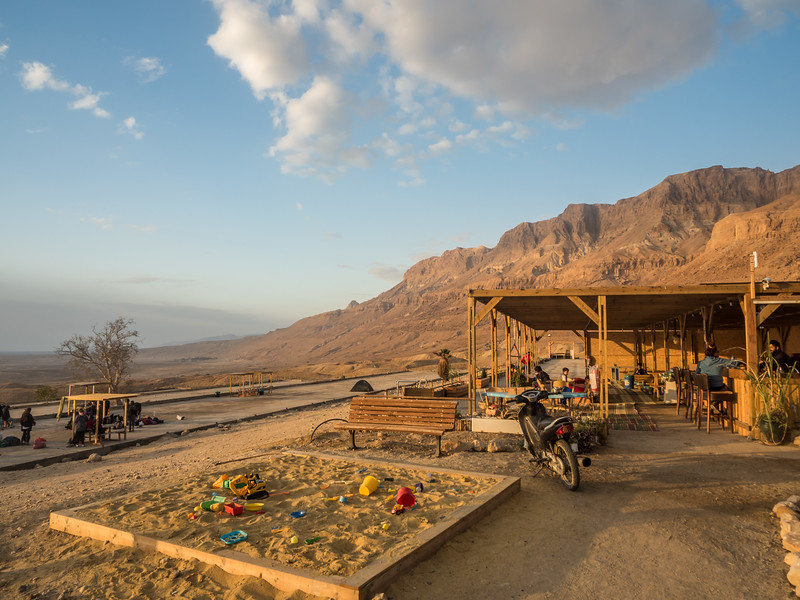 Ein Gedi Campsite in the Morning, Israel