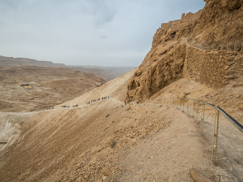 The Way Down, Masada, Israel