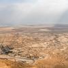 The Dead Sea Basin from Masada, Israel