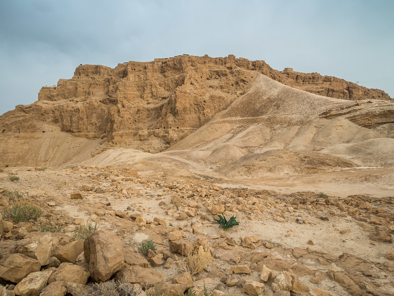 Masada and the Roman Siege Ramp, Israel