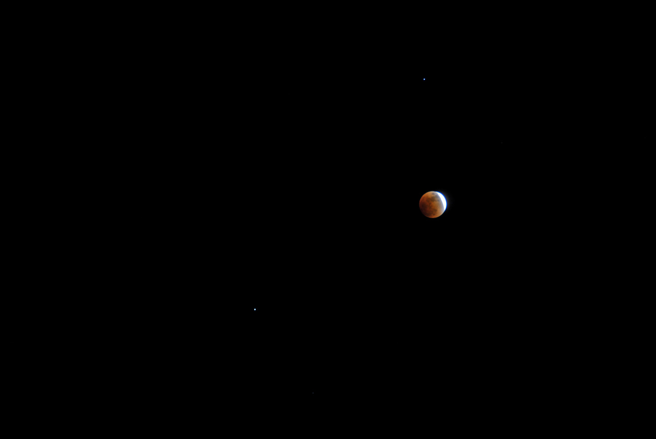 Photograph of the February 20, 2008 Lunar Eclipse.