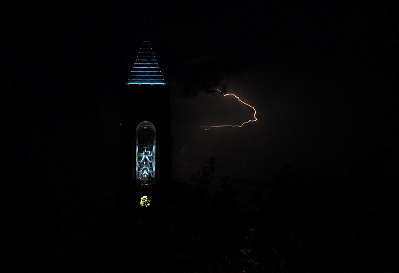 June 2009 Shot of Ball State bell tower