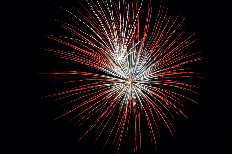 Bursting Fireworks