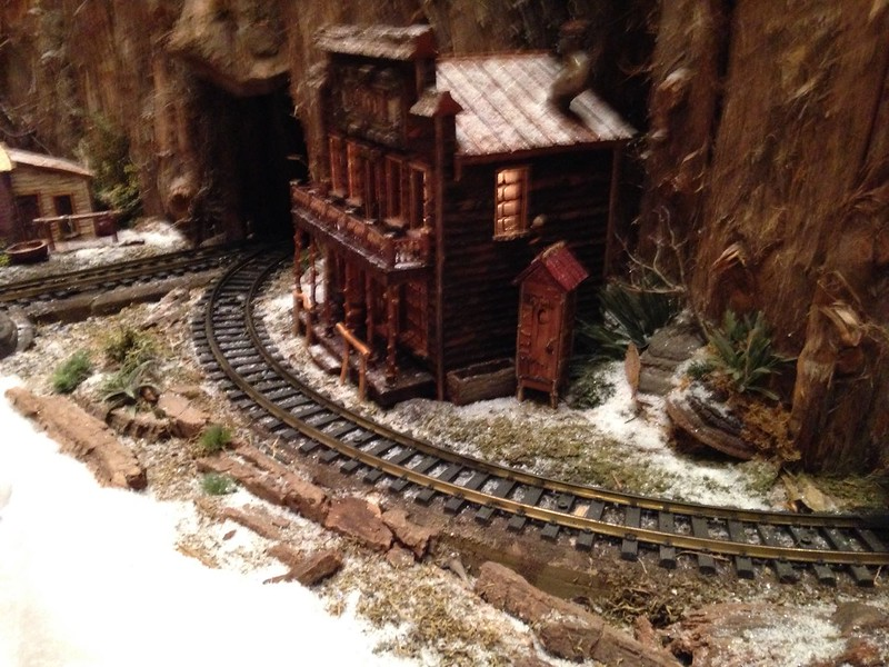 Miniature Train Display at Idlejorge Museum, Indianapolis