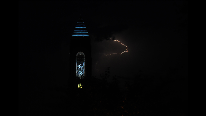 Lightning at the Bell Tower