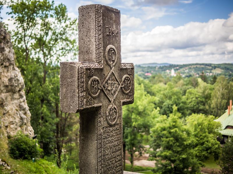 Old Cross at Bran Castle