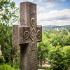 Old Cross at Bran Castle