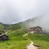 Cabins in the Mist, Bucegi, Romania
