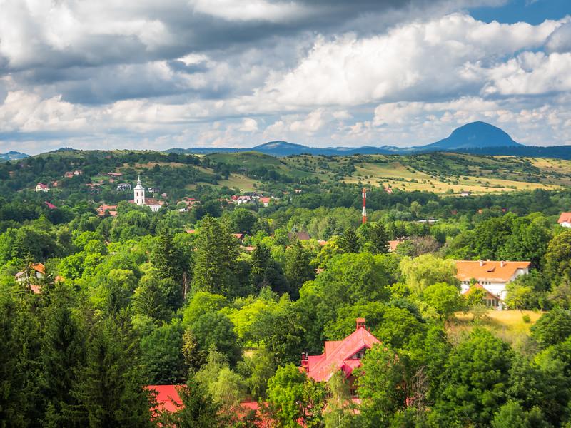 The Village of Bran, Romania