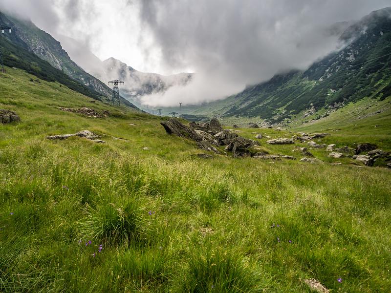 In the High Carpathians, Transfăgărașan, Romania