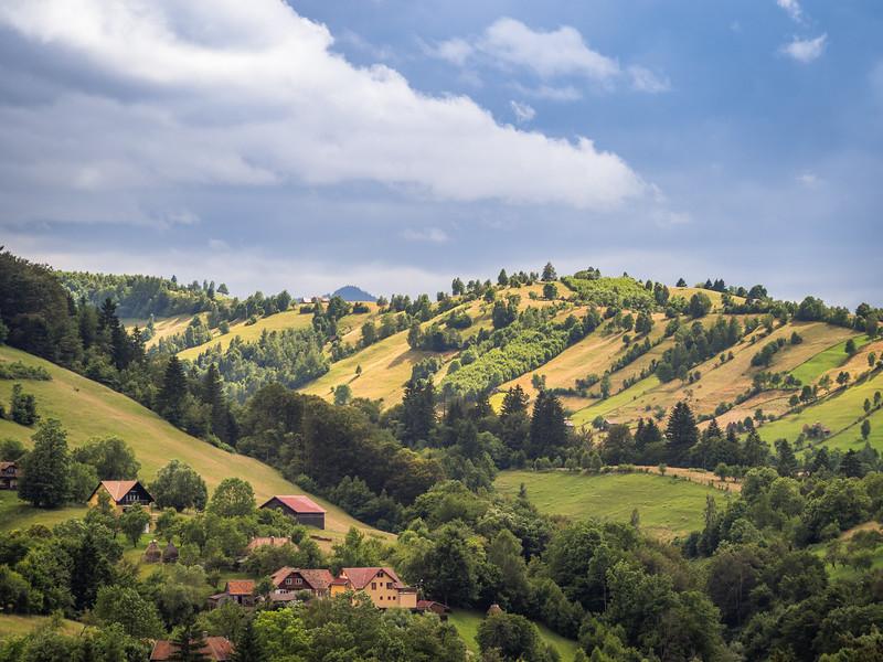 Hills Near Bran, Romania