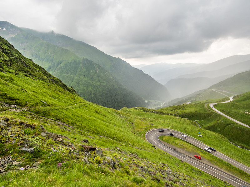Carpathian Valley Rain, Transfăgărașan, Romania