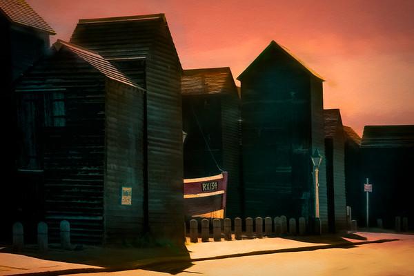 Hastings Fisherman's Net Huts
