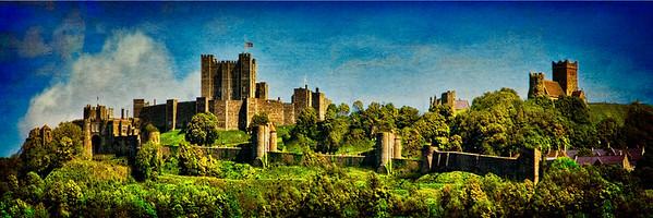 Dover Castle Panorama
