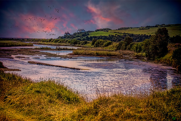 The Cuckmere Estuary, East Sussex, UK