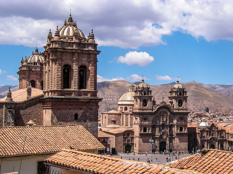 Colonial Baroque, Cusco, Peru