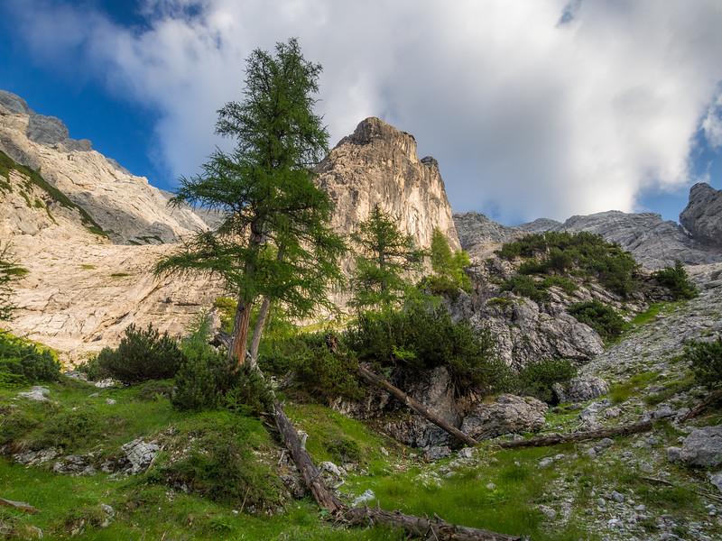 Steep Ascent to the Mitterhorn, Austria