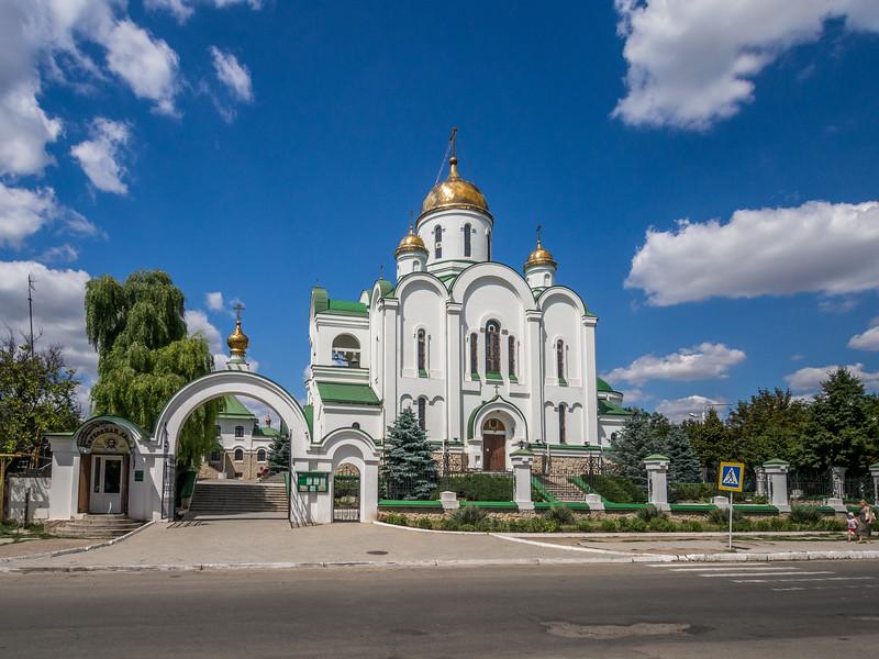 The Christmas Cathedral, Tiraspol, Transnistria