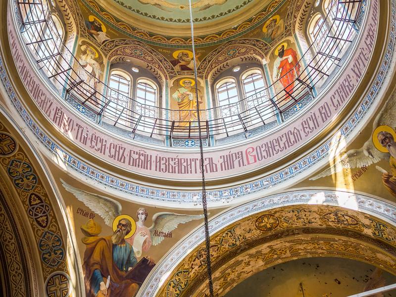 Cupola Rim of the Noul Neamt Monastery Church, Transnistria