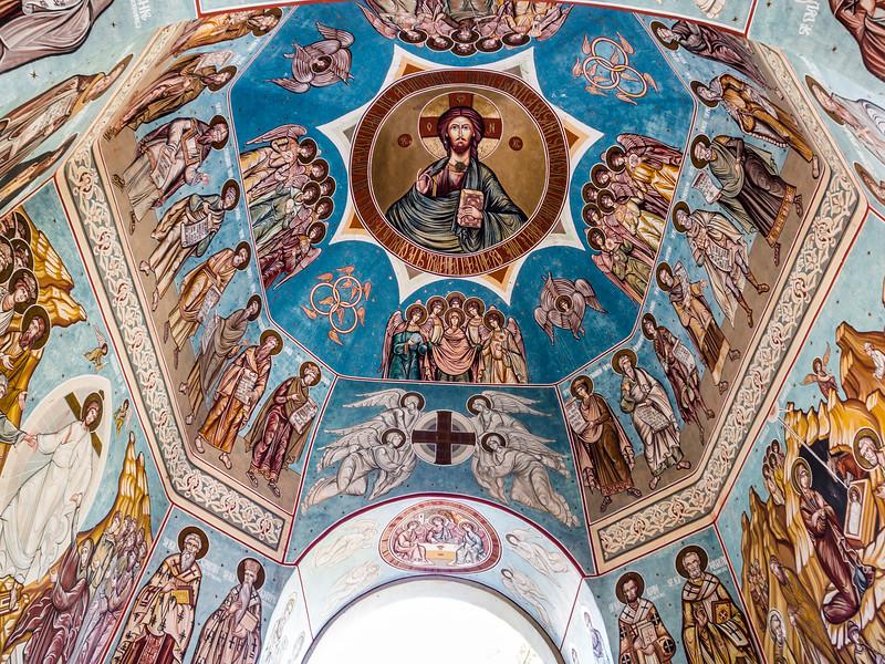 Ceiling Fresco, Noul Neamt Monastery, Transnistria