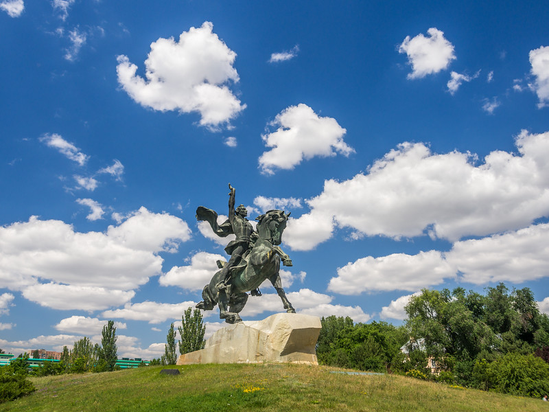 Suvorov Monument, Tiraspol, Transnistria