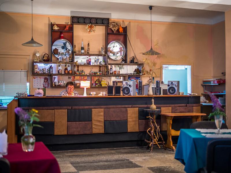 The Bar of an Old Soviet Restaurant, Tiraspol, Transnistria