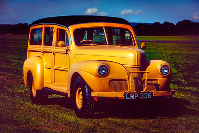 Vintage Ford Woodie