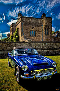 The Royal Blue MG