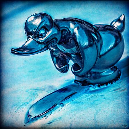 Mr. Duck Hood Ornament