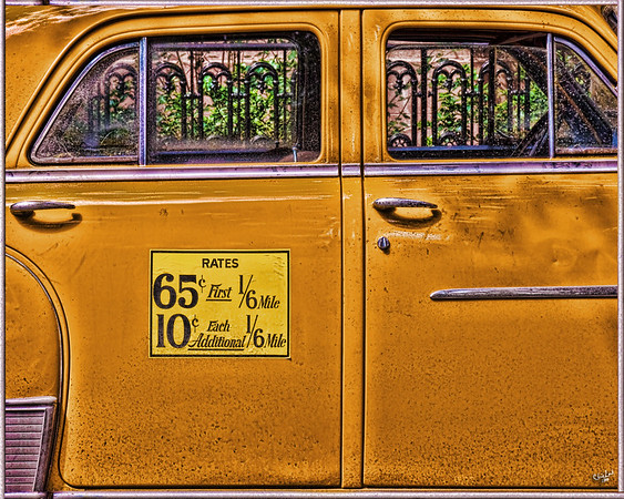 Taxi, Remember 65 cents a mile?