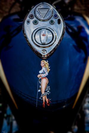 Triumph Gas Tank